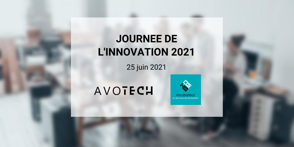 Avotech présent à la journée de l'innovation 2021 du Barreau de Montpellier