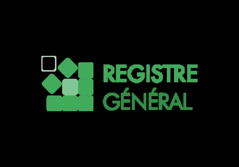 REGISTRE GENERAL